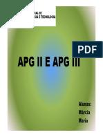 Sistema de classificação APG III
