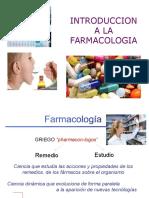 1 Introduccion a La Farmacologia