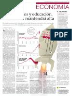 Por Arriendos y Educación Inflación Se Mantendrá Alta