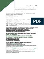 Cuestionario de Habilidades Directivas