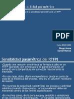 Sensbilidad Parametrica Del RTFPI-2009