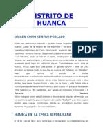 Distrito de Huanca