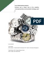 Rolex Report