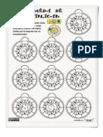 Imagen de Tablas de Multiplicar Llavero