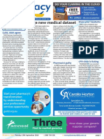 Pharmacy Daily for Tue 13 Sep 2016 - Huge new medical dataset, Harvey slams compounder, Guild AMPERSAND AMA agree, Guild Update and much more