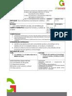 Planificación Del 24 Al 28 de Agosto de 2015
