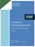 Informe de Retroalimentación -Sesión 1 Grupos de Trabajo Triestamental (Proyecto UMC 1406 Centro de Acompañamiento al Aprendizaje).pdf