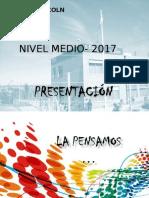 PROYECTO DE MEDIA  COMPLETO 2017.ppt