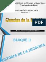 BloqueII. Historia de La Medicina