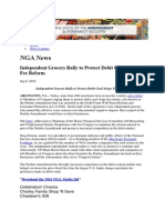 National Grocers Association fight Congress Sept 2016