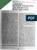 """Álvaro Matute Aguirre, """"La Revolución Mexicana y La Escritura de Su Historia"""
