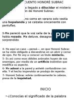 PPT_CLASE_ORACIONES Y CONTECTO DE PALABRAS._8°