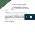 Insecticida y Repelente Casero Para Mosquitos y Cucarachas