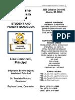 HES Student Handbook 2016-17