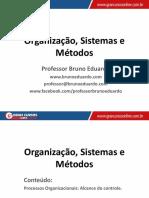 Org. Sistemas e Métodos (Novo) - Aula 25 - Amplitude de Controle (Parte I)