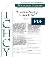 Transition Planning a Team Effort