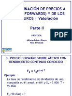 004 - Determinacion de Precios Forwards y Futuros 2Parte