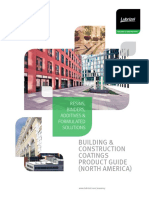Building and Construction Coating s Product Guide 1620430