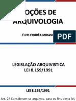 Arquivologia Novo Aula 19 Digitalizacao de Documentos
