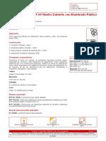 CAAI 0 6 1 KV Neutro Cubierto Con Alumbrado P Blico