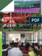 Educación en Enf.2014-II