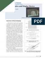 Imaging Optics and Display Device Patents_tokkyo
