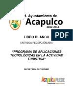 Lb Sectur Aplic. Tecnológicas Actividad Turística