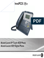 ENT PHONES IPTouch-4028-4029Digital-OXOffice Manual 0907 US