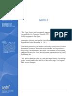 2015 Comprehensive Psychology 2015 D'Andrea 10.IT.4.4