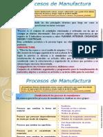 Clase 1 Procesos Manufactura