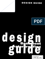 Design Guide Basement Waterproofing
