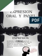 Panel y Expresion Oral