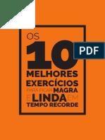 10 Melhores Exercicios Para Ficar Magra e Linda Em Tempo Recorde