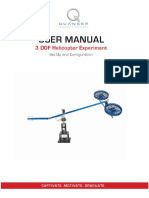 3 DOF Helicopter - User Manual