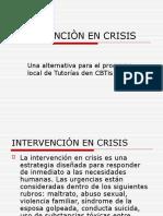 Intervenciòn en Crisis