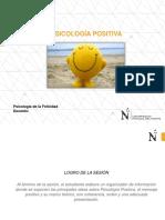 PSICOLOGÍA POSITIVA - SEMANA 1