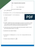 Anexo 2 - Atividade - Inequações Produto e Quociente