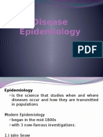 Disease Epidemiology