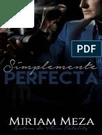 Simplemente Perfecta Miriam Meza