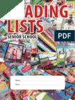 Senior School Reading Lists
