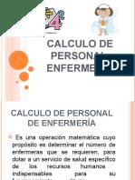 11 Calculo de Personal