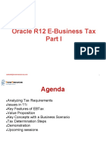 R12 E-Business Tax - Part 1.Ppt