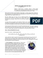 Isra Miraj Islam Sains Pakarfisika