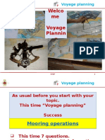 Voyage Planning Meeting 8