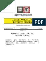 PDDU Xochimilco