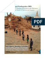 Nepal Earthquakes MHPSS Desk Review_150628