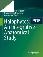 Halophytes. an Integrative Anatomical Study. Product Flyer