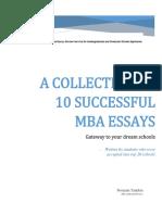 eBook of 10 Sample Essays MER
