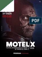 Motelx Programa 2016