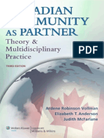Canadian Community as Partner Theory & Multidisciplinary Practice -2012
